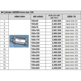 Xy lanh khí nén TPC AM2BN bore size 100