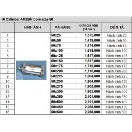 Xy lanh khí nén TPC AM2BN bore size 50